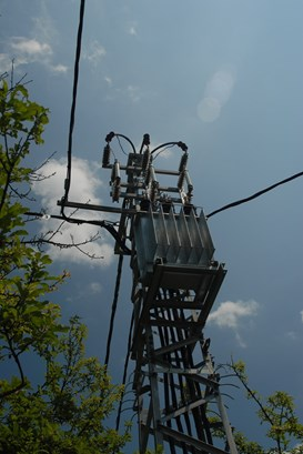 Pylon-Mounted Substations